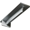 "3""W x 12""D x 2""H Heaton Hidden Support Bracket with 8"" Support Depth, Steel"